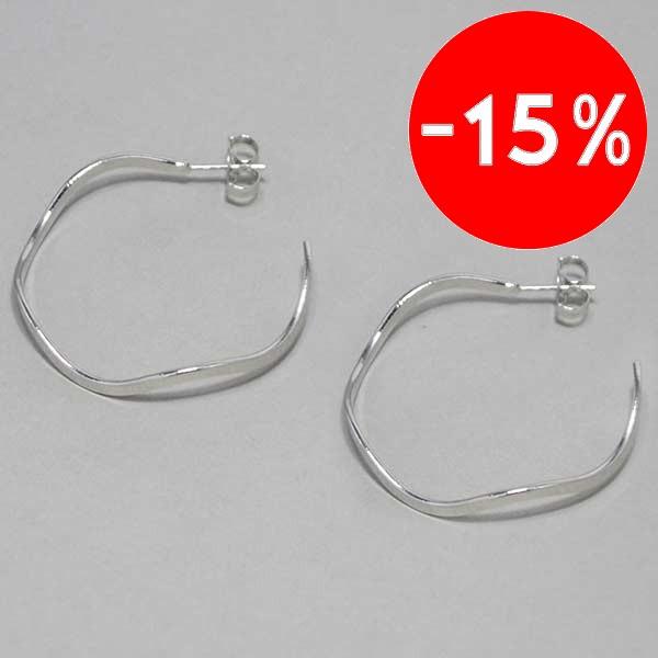diseño que puedes usar a diario, diámetro 4 cm-Joyas Banadas-Aros-EE0616A