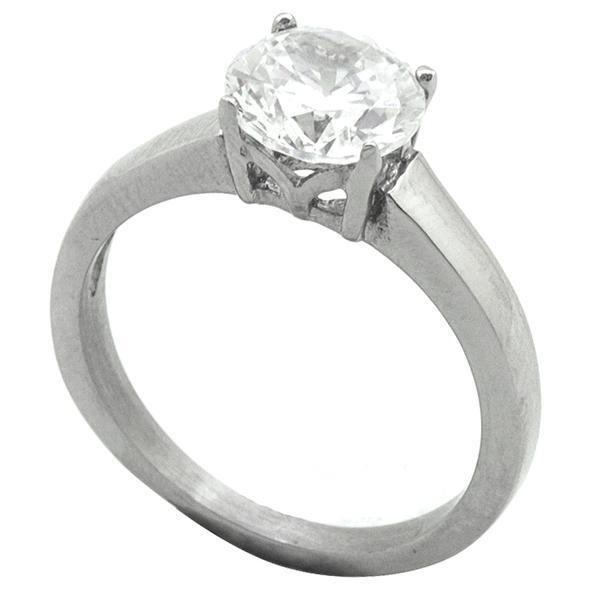 Joyas de acero quirurgico por mayor, Anillos, anillo acero, tipo solitario-Joyas de Acero-Anillos-RA0767