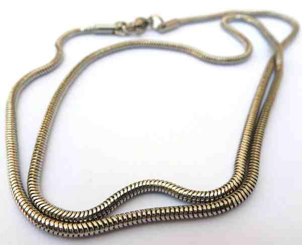 Joyas de acero quirurgico por mayor, cadenas y collares. Topo 2.5 mm de espesor y 50 cm de largo-Joyas de Acero-Collares-NA0039L