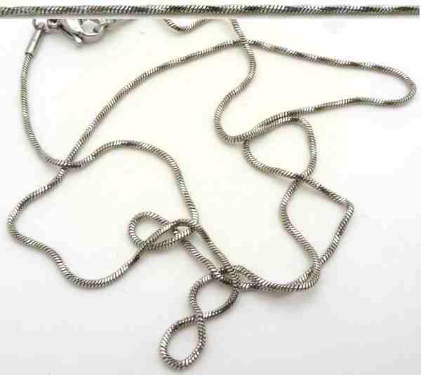 Collar y cadena de acero-Joyas de Acero-Collares-NA0077