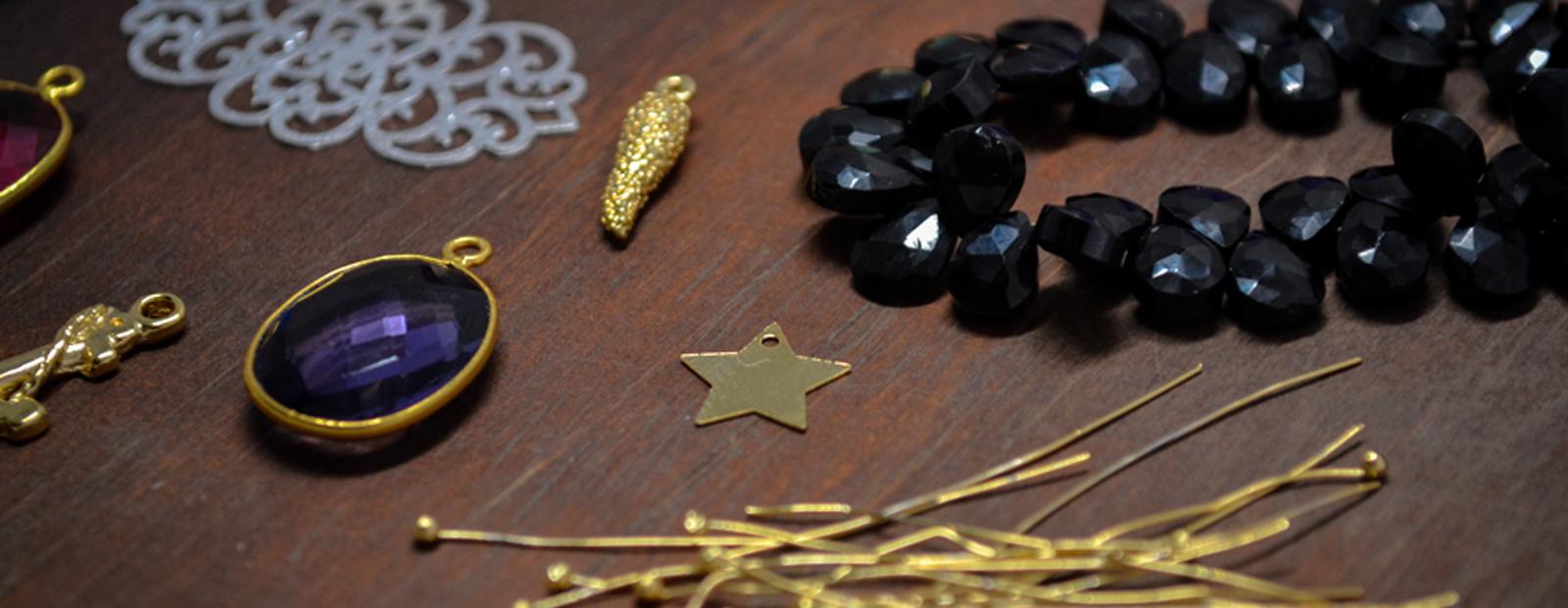 piezas y accesorios para armar joyas