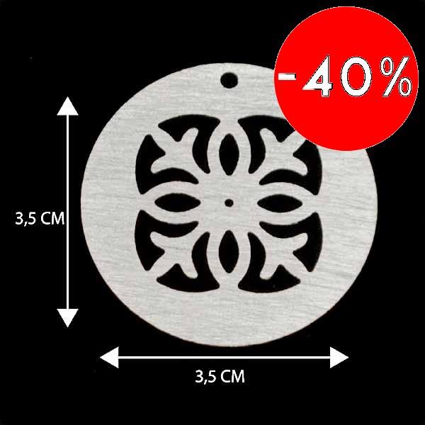 - Bañada en plata Valor Unitario, dimesiones en foto, espesor 1 mm aprox-Insumos -Piezas Exclusivas-P9P