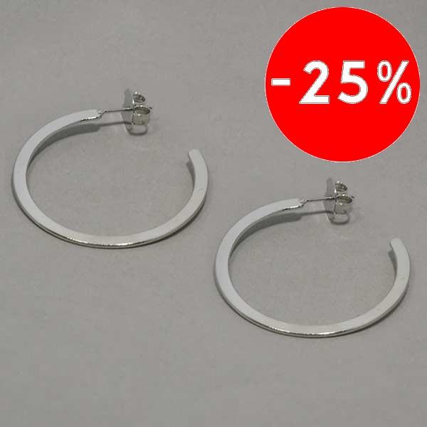 diseño moderno, ideal para conbinar con tu ropa, diámetro 3.8 cm-Joyas Banadas-Aros-EE0619A