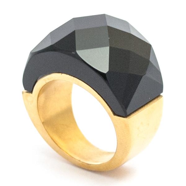 si eres fans del dorado este anillo es para ti-Joyas de Acero-Anillos-RA0756DN