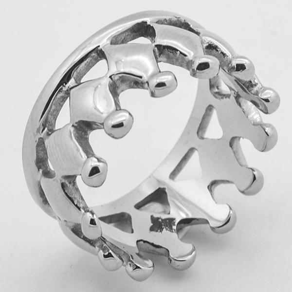 Joyas de acero quirurgico por mayor, anillos. anillo de acero, diseño de moda y muy juvenil-Joyas de Acero-Anillos-RA0763