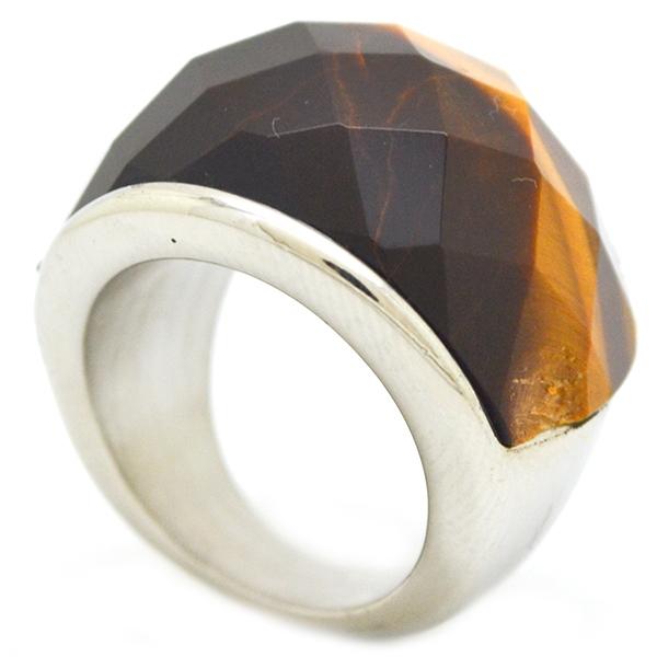 diseño clásico, piedra estilo ojo de tigre 6-Súper Ofertas-Oferta anillos-RA0813L