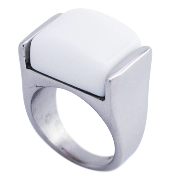si eres vanguardista este diseño es para ti en un color que debes tener-Joyas de Acero-Anillos-RA0827