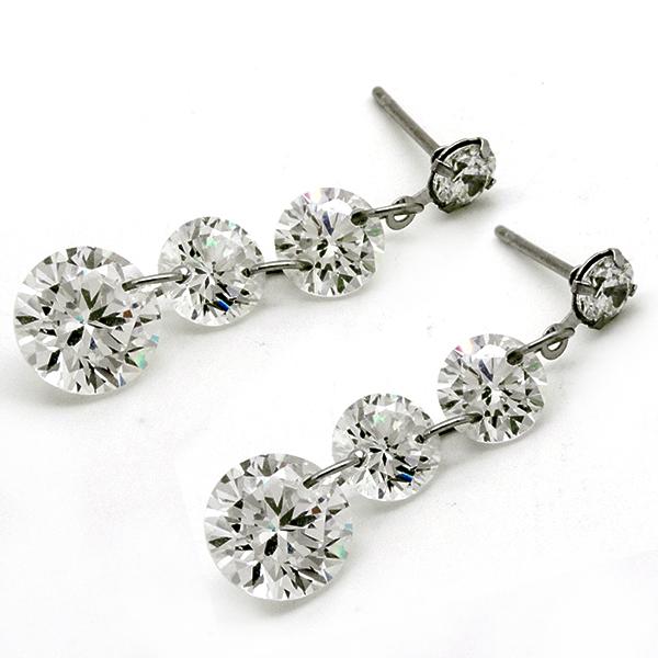 Joyas de acero quirurgico por mayor, Aros, Aro acero, largo 2,5 cm y cristal-Joyas de Acero-Aros-EA0782