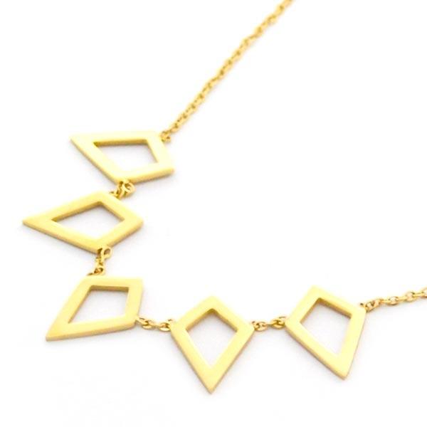 Collares-Joyas de Acero por mayor-Joyas de Acero-Collares-NA0165D