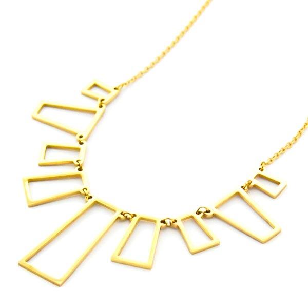 Collares-Joyas de Acero por mayor-Joyas de Acero-Collares-NA0167D