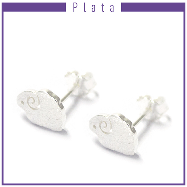 Aros-Joyas de plata 925 por mayor ARO DE PLATA EN FORMA DE OVEJA DE ( 0,7 CM )-Joyas de Plata-Aros-EP0011