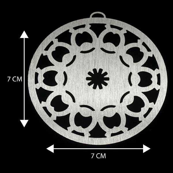 - Bañada en plata Valor Unitario, dimesiones en foto, espesor 1 mm aprox-Insumos -Piezas Exclusivas-P93P
