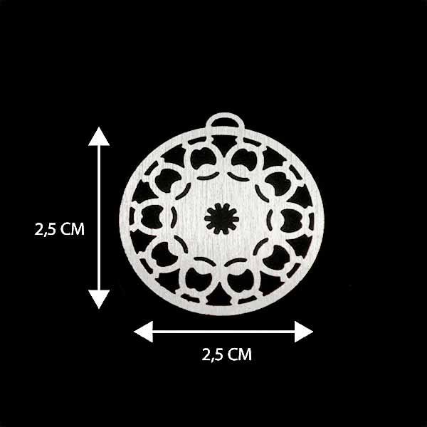 - Bañada en plata Valor Unitario, dimesiones en foto, espesor 1 mm aprox-Insumos -Piezas Exclusivas-P95P