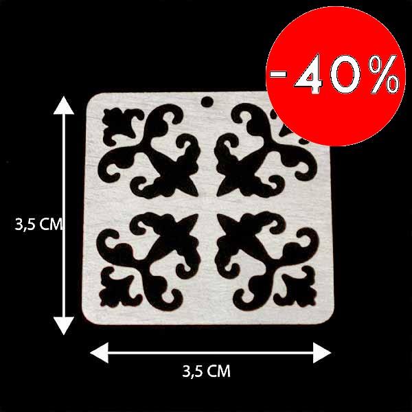 - Bañada en plata Valor Unitario, dimesiones en foto, espesor 1 mm aprox-Insumos -Piezas Exclusivas-P97P