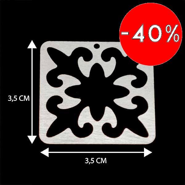 - Bañada en plata Valor Unitario, dimesiones en foto, espesor 1 mm aprox-Insumos -Piezas Exclusivas-P98P